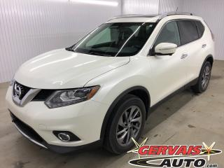 Used 2015 Nissan Rogue SL AWD GPS MAGS CUIR TOIT PANORAMIQUE CAMÉRA DE RECUL for sale in Trois-Rivières, QC