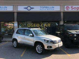 Used 2012 Volkswagen Tiguan Pano Sunroof, Leather, Heated Seats for sale in Vaughan, ON
