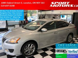Used 2014 Nissan Sentra SR+New Tires+GPS+Camera+Sunroof+Bluetooth for sale in London, ON