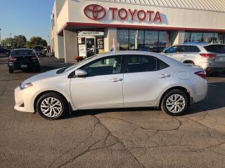 Used 2017 Toyota Corolla LE auto back up camera Heated Seats power pkg for sale in Cambridge, ON