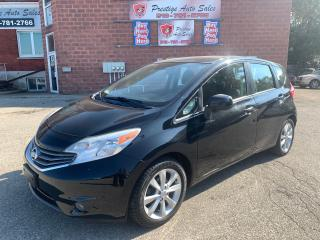 Used 2014 Nissan Versa Note SL/NAVIGATION/REAR CAMERA/NO ACCIDENT/SAFETY INCL for sale in Cambridge, ON