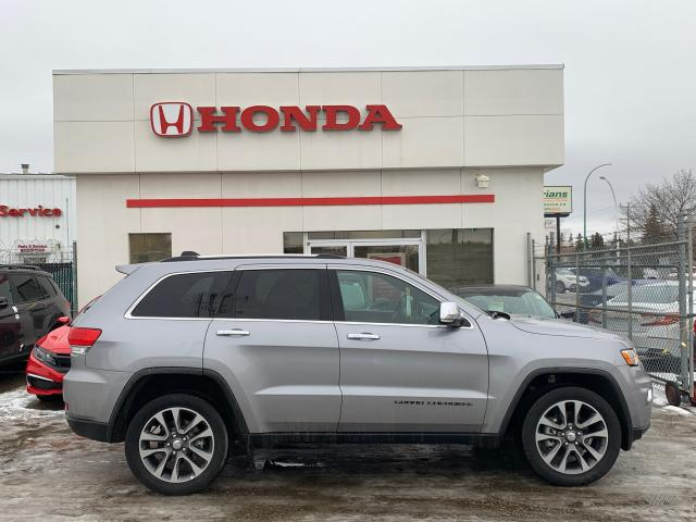 2018 Jeep Grand Cherokee LIMITED V6 4WD HEATED 1ST & 2ND ROWS & SUNROOF
