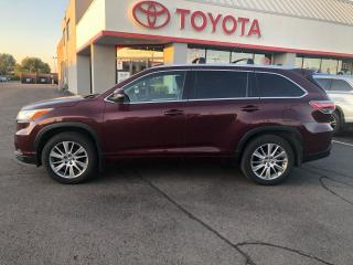 Used 2015 Toyota Highlander XLE leather roof navigation Alloys 7 pass for sale in Cambridge, ON