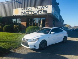 Used 2016 Lexus IS 300 F-Sport/Red-Int/AWD/Nav/SunRoof/BackCam for sale in North York, ON