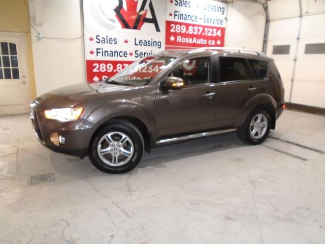 2010 Mitsubishi Outlander 7PASSENGER 4X4 AUTO LEATHER GT PACK SUNROOF B-TOOT