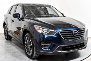 Used 2016 Mazda CX-5 GT AWD CUIR TOIT MAGS NAV CAMERA DE RECU for sale in St-Hubert, QC