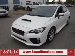Used 2017 Subaru IMPREZA WRX SPORT-TECH SEDAN AWD 2.0L for sale in Calgary, AB