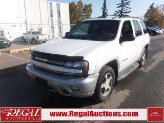 Used 2004 Chevrolet TrailBlazer LT 4D Utility 4WD 4.2L for sale in Calgary, AB