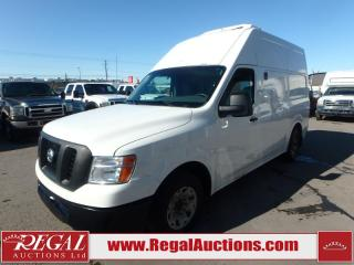 Used 2012 Nissan NV2500HD HIGH ROOF REEFER CARGO VAN 2WD for sale in Calgary, AB