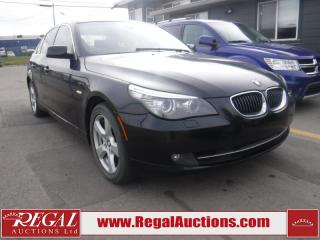 Used 2008 BMW 5 Series 528XI 4D Sedan AWD for sale in Calgary, AB