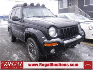Used 2004 Jeep Liberty 4D Utility 4WD for sale in Calgary, AB
