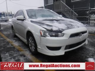 Used 2011 Mitsubishi Lancer SE 4D Sedan 5SP for sale in Calgary, AB