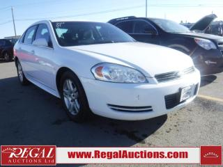 Used 2011 Chevrolet IMPALA  4D SEDAN FWD for sale in Calgary, AB