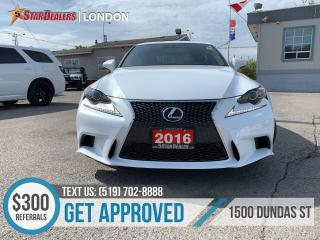 Used 2016 Lexus IS 350 for sale in London, ON