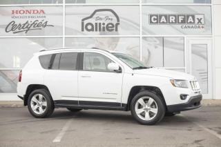 Used 2016 Jeep Compass High Altitude 4X4 ***JAMAIS ACCIDENTE*** for sale in Québec, QC