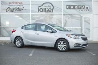 Used 2015 Kia Forte LX ***BAS KILOMETRAGE*** for sale in Québec, QC