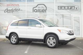Used 2011 Honda CR-V EX AWD ***JAMAIS ACCIDENTE*** for sale in Québec, QC