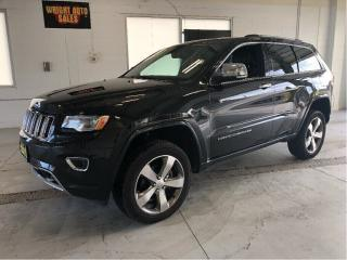 Used 2015 Jeep Grand Cherokee Overland|MOON ROOF|NAVIGATION|LEATHER|115,176 KM for sale in Cambridge, ON