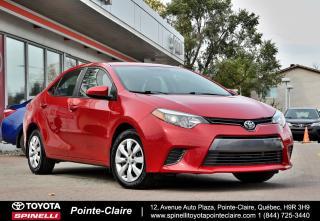 Used 2015 Toyota Corolla LE GROUPE ÉLECTRIQUE, CAMÉRA DE RECUL for sale in Pointe-Claire, QC