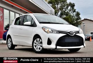 Used 2015 Toyota Yaris LE BAS KM! for sale in Pointe-Claire, QC