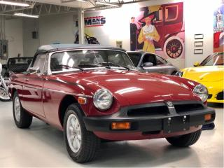 Used 1978 MG MGB Roadster with Overdrive for sale in Paris, ON