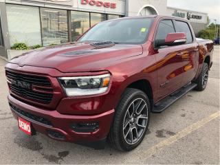 Used 2019 RAM 1500 Sport Crew 4x4 V8 w/Navi, Sunroof, Leather, Side S for sale in Hamilton, ON