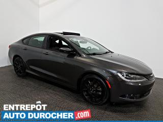 Used 2015 Chrysler 200 S AWD NAVIGATION - Toit Ouvrant - A/C - Cuir for sale in Laval, QC