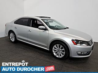 Used 2014 Volkswagen Passat Highline TDI NAVIGATION - Toit Ouvrant - A/C -Cuir for sale in Laval, QC