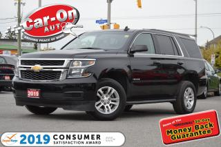 Used 2019 Chevrolet Tahoe 4WD 8 PASSENGER REAR CAM FULL PWR GRP NAV READY for sale in Ottawa, ON
