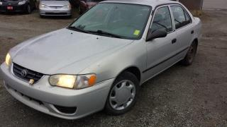 Used 2001 Toyota Corolla S for sale in West Kelowna, BC
