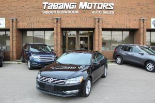 Used 2013 Volkswagen Passat HIGHLINE | NO ACCIDENTS | NAVIGATION I REAR CAM I SUNROOF BT for sale in Mississauga, ON