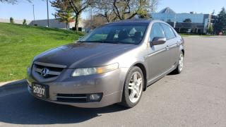 Used 2007 Acura TL 4dr Sdn AT w/Navigation Pkg | Timing Belt & Waterpump Done! for sale in Vaughan, ON