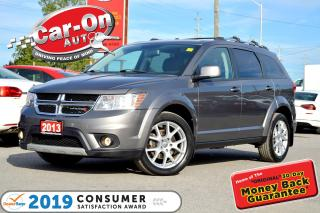 Used 2013 Dodge Journey Crew 7 PASSENGER REAR CAM DVD HTD SEATS LOADED for sale in Ottawa, ON