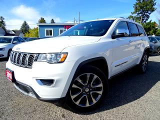 Used 2018 Jeep Grand Cherokee Limited 4WD NAVI | LANE DEP. | PARALLEL PARK ASSIST | ADAPTIVE CRUISE | CERTIFIED for sale in Guelph, ON