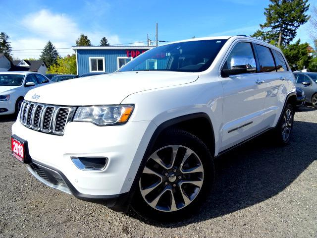 2018 Jeep Grand Cherokee Limited 4WD NAVI | LANE DEP. | PARALLEL PARK ASSIST | ADAPTIVE CRUISE | CERTIFIED