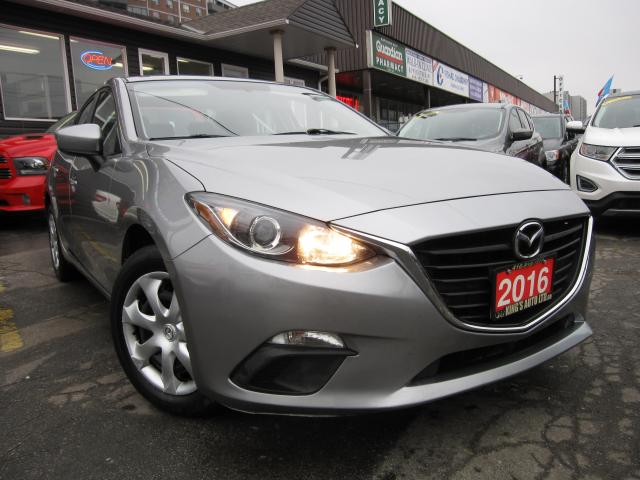 2016 Mazda MAZDA3 GX Sport GX SPORT - ACCIDENT FREE!!!...BACK UP CAMERA, KEYLESS ENTRY