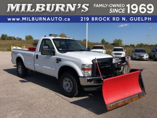 Used 2010 Ford F-250 Super Duty XL 4x4 w/ Plow and Salter for sale in Guelph, ON