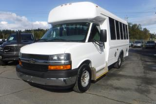 Used 2011 Chevrolet Express G3500 6 Passenger Diesel Bus with Wheelchair Accessibility for sale in Burnaby, BC