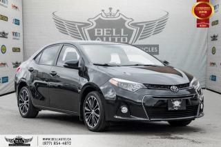 Used 2016 Toyota Corolla S, NO ACCIDENT, NAVI, BACK-UP CAM, SUNROOF, PUSH START for sale in Toronto, ON