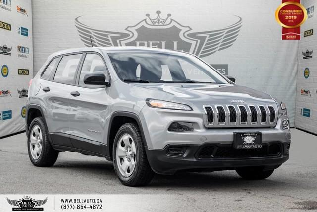 2014 Jeep Cherokee Sport, NO ACCIDENT, BLUETOOTH, TRACTION CNTRL, PWR MIRRORS