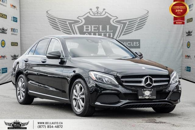 2016 Mercedes-Benz C-Class C 300, 4MATIC, NAVI, BACK-UP CAM, HEADS-UP DIS, SENSORS