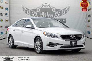 Used 2015 Hyundai Sonata 2.4L Limited, NO ACCIDENT, NAVI, BACK-UP CAM, PANO ROOF, BLIND SPOT for sale in Toronto, ON