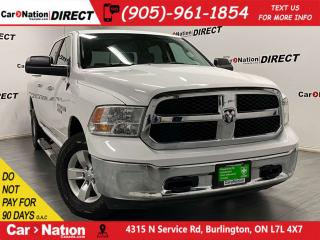 Used 2017 RAM 1500 SLT| 4X4| HEMI| BACK UP CAMERA & SENSORS| for sale in Burlington, ON