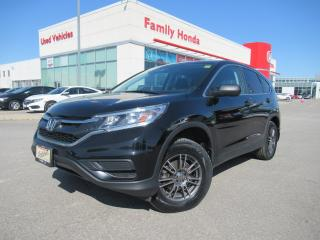 Used 2016 Honda CR-V LX | HONDA CERTIFIED | ECO MODE for sale in Brampton, ON