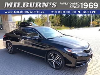 Used 2016 Honda Accord Coupe Touring for sale in Guelph, ON