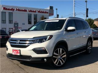 Used 2017 Honda Pilot Touring - Navigation - Roof - Leather - DVD for sale in Mississauga, ON