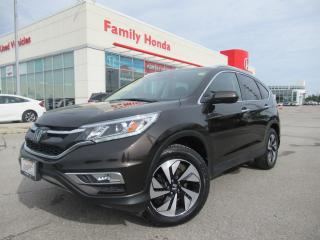 Used 2016 Honda CR-V Touring | HONDA CERTIFIED | for sale in Brampton, ON