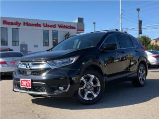 Used 2017 Honda CR-V EX-L - Leather - Sunroof - Rear Camera for sale in Mississauga, ON