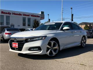Used 2018 Honda Accord Sedan Touring - Navigation - Leather - Sunroof for sale in Mississauga, ON
