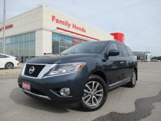 Used 2015 Nissan Pathfinder SL | NAVIGATION | SUNROOF | for sale in Brampton, ON